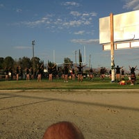 Photo taken at Old Banning High Stadium by Cody M. on 8/29/2013