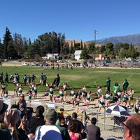Photo taken at Old Banning High Stadium by Cody M. on 10/19/2013