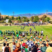 Photo taken at Old Banning High Stadium by Cody M. on 9/28/2013