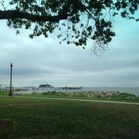 Photo taken at Calf Pasture Beach by Robert C. on 7/12/2013
