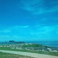 Photo taken at Calf Pasture Beach by Robert C. on 7/2/2013