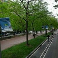 Photo taken at Avinguda de Josep Tarradellas by LCF D. on 5/10/2013