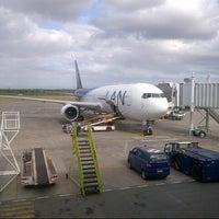 Photo taken at Aeropuerto Internacional El Tepual (PMC) by Rodrigo D. on 2/1/2013