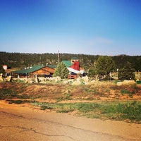 Photo taken at Zion Ponderosa Ranch Resort by Amy Qinchi S. on 5/19/2014