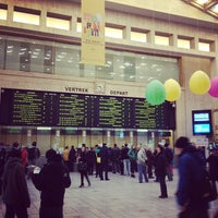 Photo taken at Brussels Central Station by Oleg U. on 4/2/2013