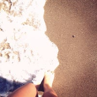 Photo taken at Beach of Lyttos Beach by Catherine F. on 9/18/2013