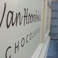 Photo taken at Chocolatier Luc Van Hoorebeke by Jannes D. on 10/7/2013