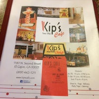 Photo taken at Kip's Cafe by Kaye on 3/15/2013