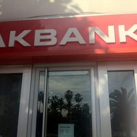Photo taken at Akbank by Mustafa B. on 1/9/2013