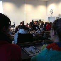 Photo taken at Aula by Steffi T. on 1/28/2013