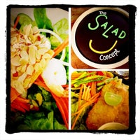 Photo taken at The Salad Concept by Djm M. on 1/29/2013