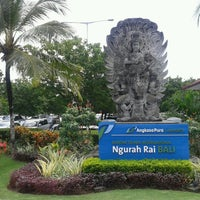 Photo taken at Ngurah Rai International Airport (DPS) by Nerijus K. on 5/15/2013