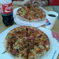 Photo taken at Domino's Pizza by Arda A. on 1/25/2013