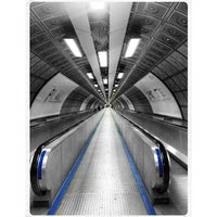 Photo taken at Waterloo London Underground Station by Mitko L. on 1/13/2013