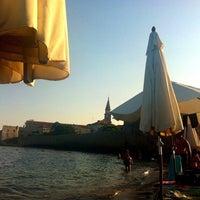 Photo taken at Plazha Pizana by Ksenija M. on 7/29/2013