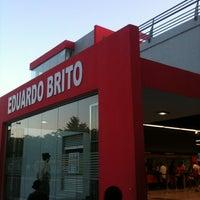 Photo taken at Estacion Eduardo Brito by Ismael M. on 9/11/2013