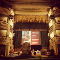 Photo taken at Teatro Accademico by BellAsolo V. on 7/18/2014