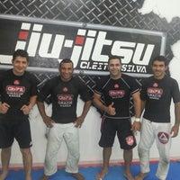 Photo taken at Cleiton Silva Jiu Jitsu by Filipe E. on 6/4/2013
