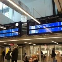 Photo taken at Warsaw West Railway Station by Maciej J. on 12/21/2012