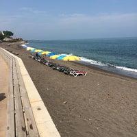 Photo taken at Eser Beach by Ersin E. on 6/13/2015