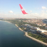 Photo taken at Istanbul Atatürk Airport (IST) by Enes T. on 7/16/2013