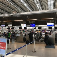 Photo taken at China Airlines (CI) Check-In Area by JC H. on 6/1/2017