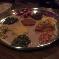 Photo taken at Ras Dashen Ethiopian Restaurant by Paul H. on 11/13/2012