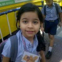 Photo taken at Podar International School by Sujan O. on 1/4/2013