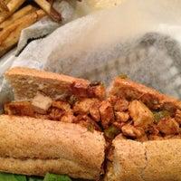 Photo taken at Govinda's Gourmet Vegetarian by Kristin B. on 6/2/2013