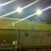 Photo taken at Rusayl Football Ground by Khalid A. on 1/7/2013