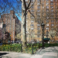 Photo taken at Abingdon Square Park by Ethan S. on 4/14/2013