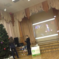Photo taken at Школа №1287 by Eftychia I. on 12/18/2012