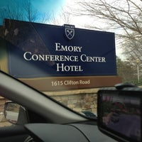Photo taken at Emory Conference Center Hotel by Elisabeth N. on 12/12/2012