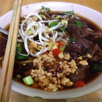 Photo taken at Noodle Station by rachel h. on 10/7/2012