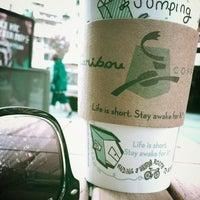 Photo taken at Caribou Coffee by Kjeld v. on 5/12/2014