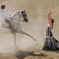 Photo taken at Yah Stables by Abdulla A. on 5/27/2013