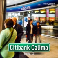 Photo taken at Citibank Calima by Oscar Augusto A. on 3/1/2014