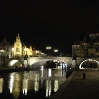 Photo taken at Sint-Michielsbrug by Edouard M. on 2/21/2013
