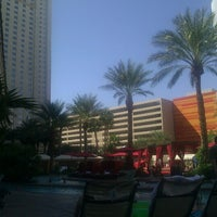 Photo taken at Pools at Monte Carlo Resort & Casino by Filmester on 9/19/2012