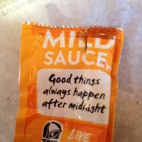 Photo taken at Taco Bell by Timothy Stanley on 12/15/2012