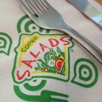 Photo taken at Super Salads by Javo M. on 1/10/2013