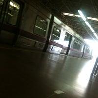 Photo taken at Estação Samambaia - METRÔ-DF by Marlos A. on 3/9/2013