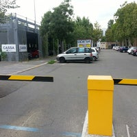Photo taken at Parcheggio Aci Service by Federico B. on 7/14/2014