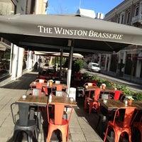 Photo taken at The Winston Brasserie by Hüseyin H. on 1/25/2013