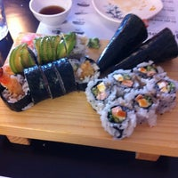Photo taken at Jinju Sushi by Destiny A. on 5/27/2013