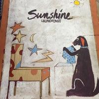 Photo taken at Sunshine Laundry & Pinball Emporium by LouAnn B. on 5/30/2015