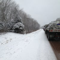 Photo taken at PA Rest Area I80 EB by Audrey M. on 3/16/2013