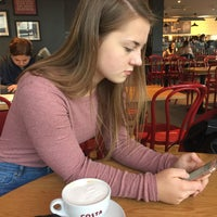 Photo taken at Costa Coffee by Nela M. on 10/10/2017