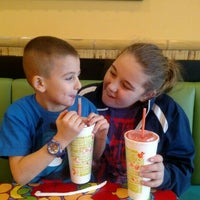 Photo taken at Tropical Smoothie by Dawn S. on 2/4/2016