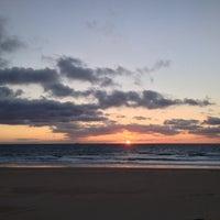 Photo taken at Playa de El Balneario by Paulo N. on 1/25/2014